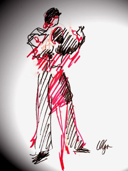 Tango in Red Line
