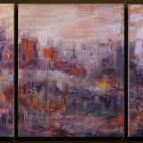 City in Purple Light
